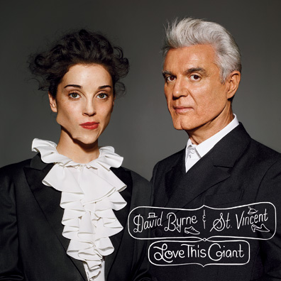 Annie Clark and David Byrne